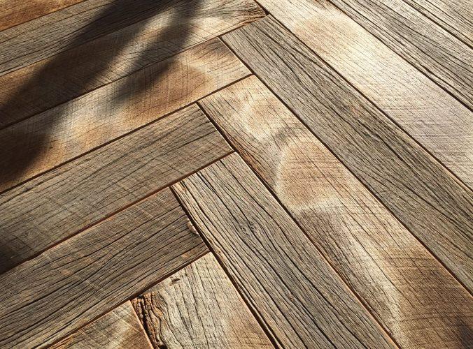 Herringbone Parquet Oak Timber Flooring