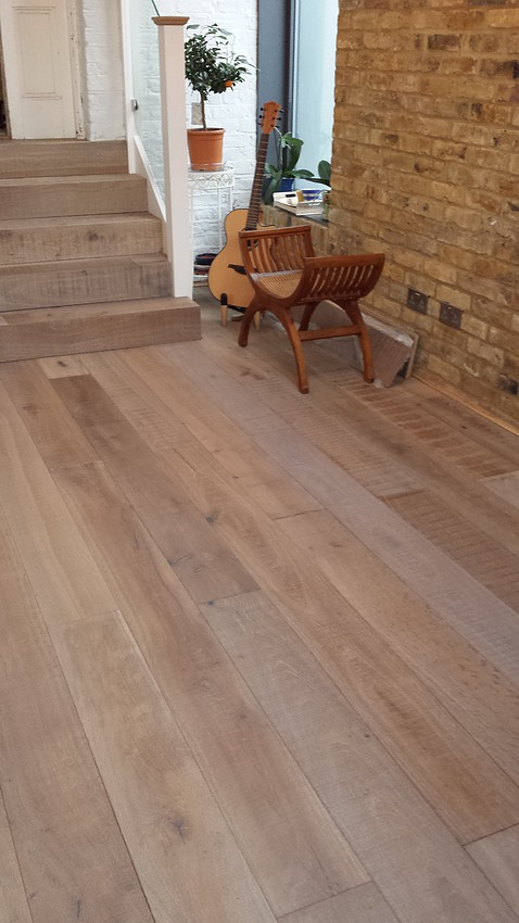 French Oak Wide Board Antique Sawn Oak Timber Flooring