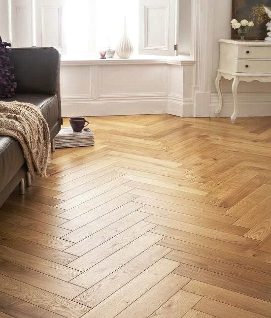 Herringbone Parquet Solid French Oak Oak Timber Flooring