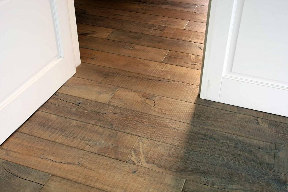 French Oak Wide Board Antique Sawn Oak Timber Flooring