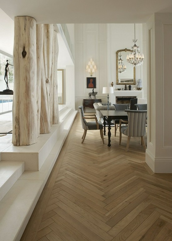 Floorwood Solid French Oak Herringbone
