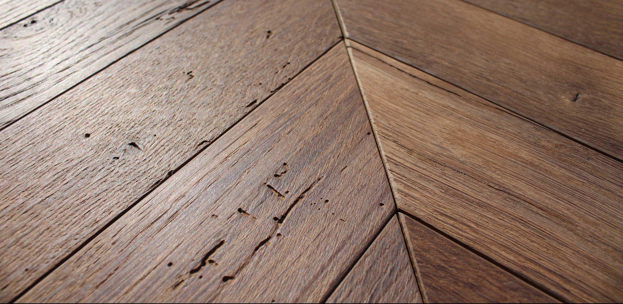 Chevron Parquet Oak Timber Flooring