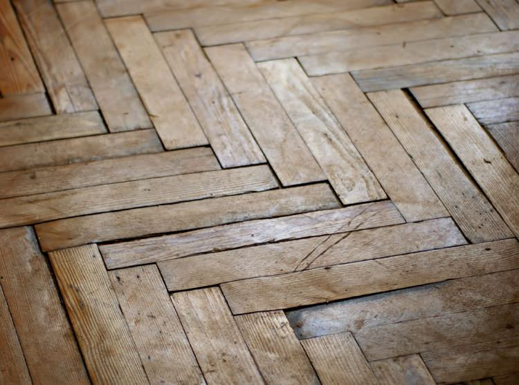French Oak Herringbone Parquet Oak Timber Flooring