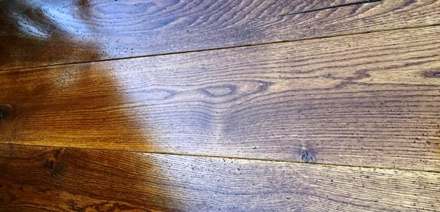 LiteniT wood bleaching after part A