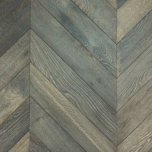 Floorwood French Oak Chevron Parquet custom finish