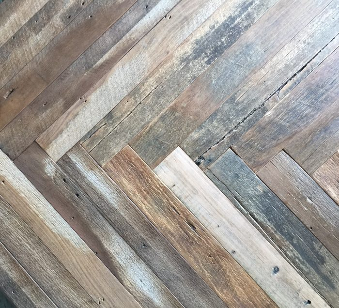 Legacy Reclaimed Herringbone Oak Timber Flooring