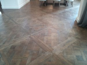 French Oak Versailles flooring