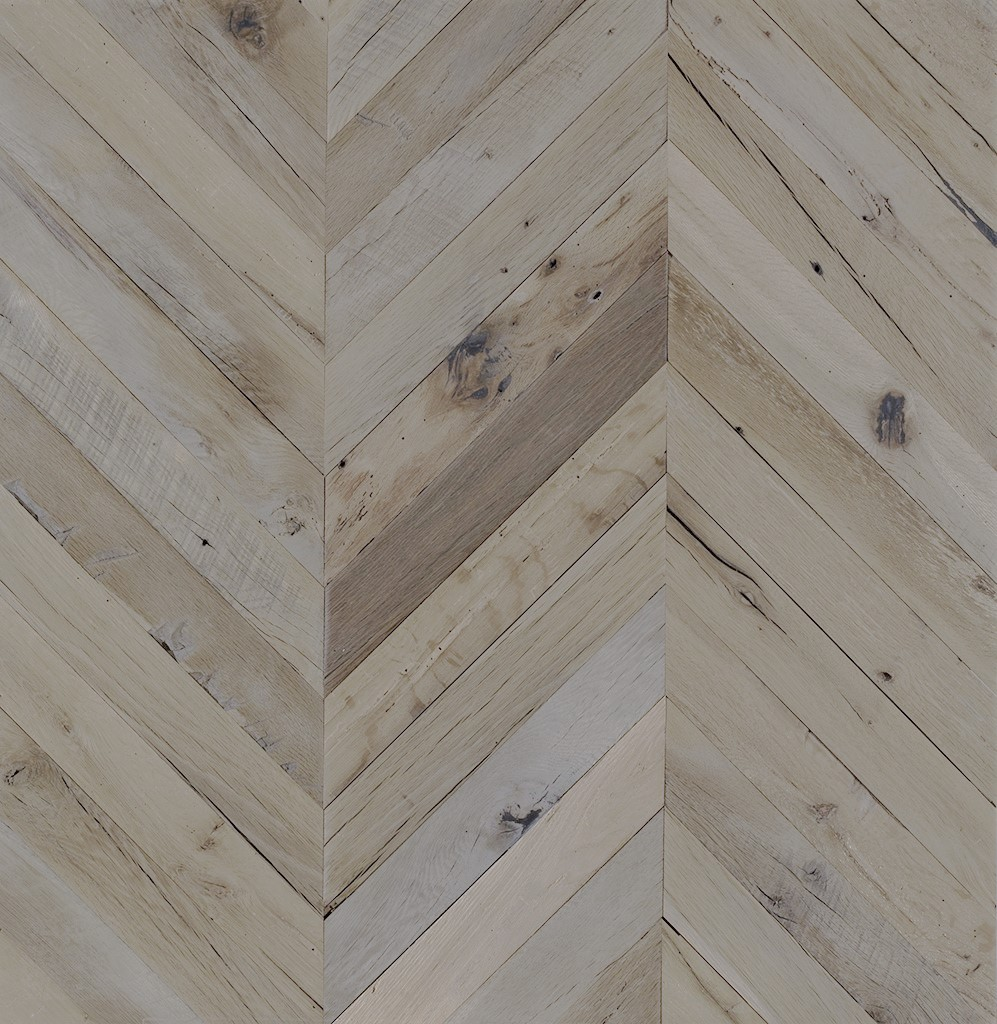 Legacy Reclaimed Hardwood Chevron Oak Timber Flooring