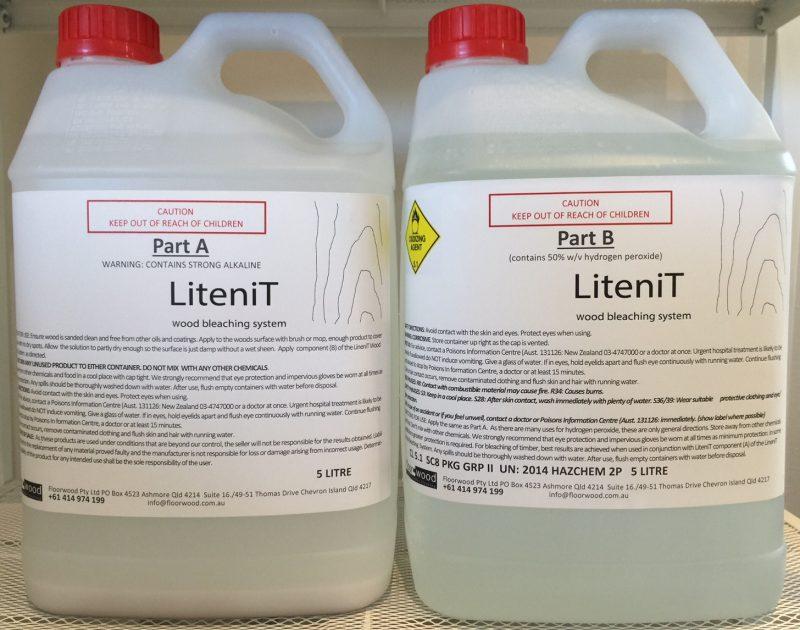 LiteniT wood bleaching system10Lt kit