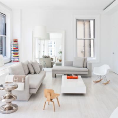 LiteniT bleached floor room
