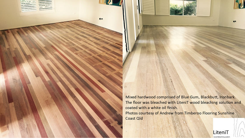 the wood must be bleached - Bleached Wood Flooring
