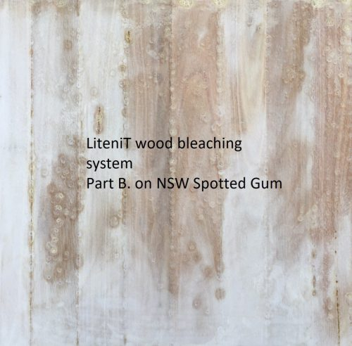 Bleached NSW Spotted Gum part B.