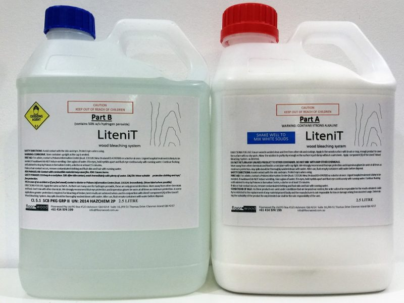 Wood bleach LiteniT 5lt kit