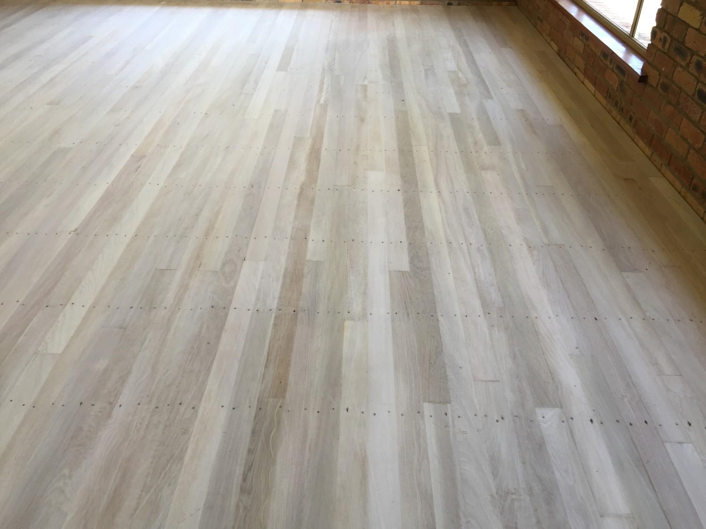 LiteniT wood bleached Brushbox flooring