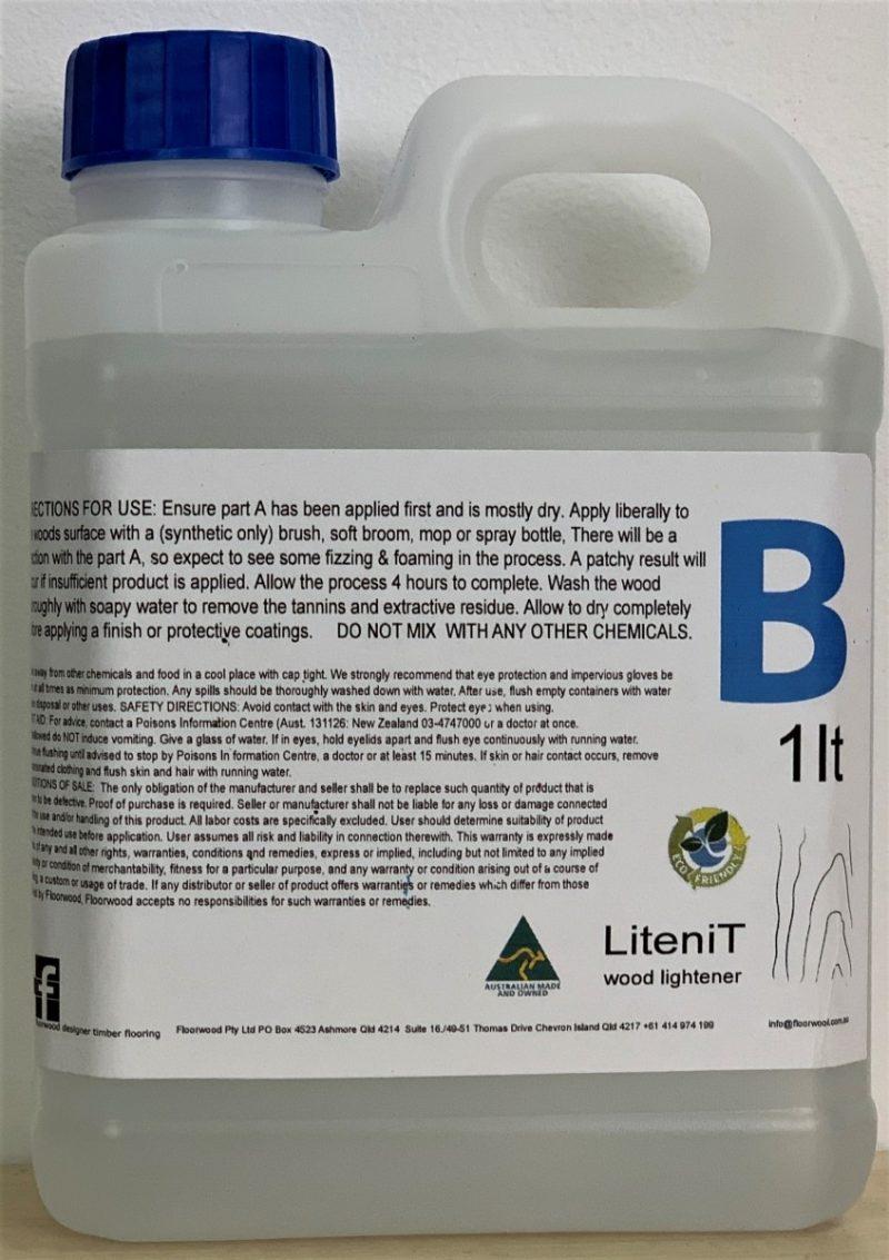 LiteniT 1lt pB bottle for wood lightening