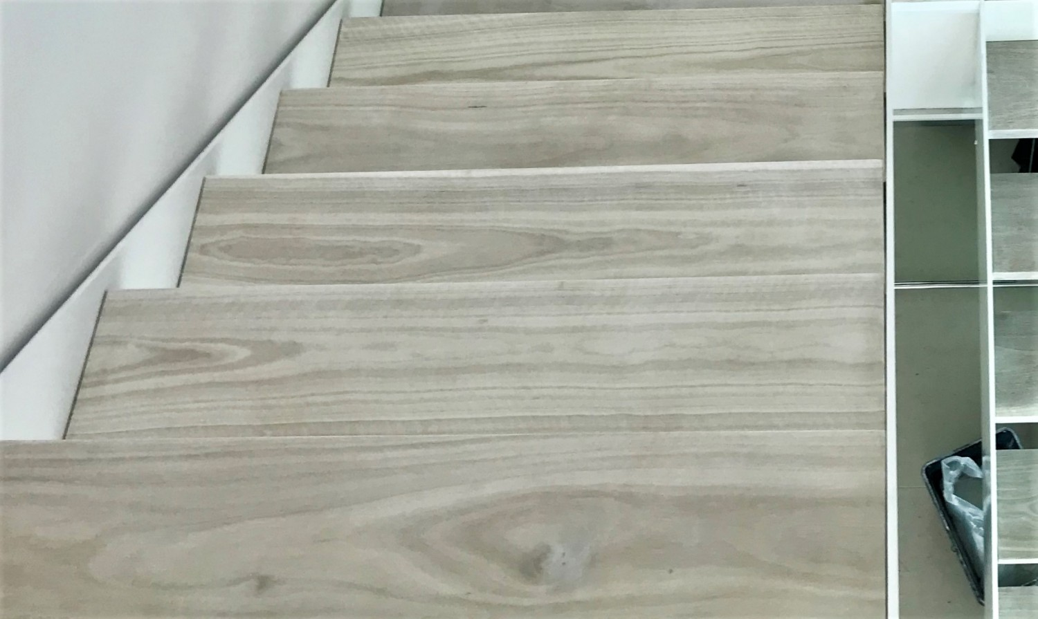 Bleached Spotted Gum Stairs LiteniT