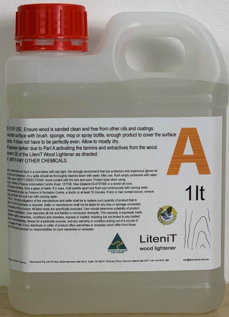 LiteniT wood lightener Part A 1lt